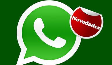 6 últimas novedades en WhatsApp