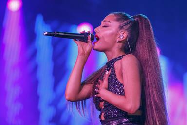 Ariana Grande comparte en redes un fragmento de su nueva canción