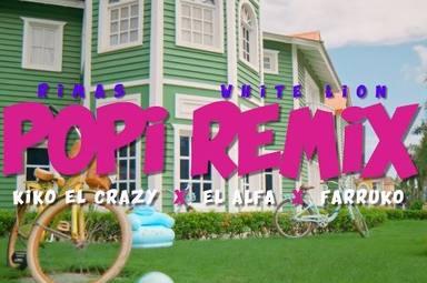 """Kiko El Crazy, El Alfa y Farruko presentan """"Popi Remix"""""""