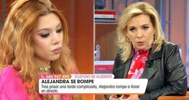 Alejandra Rubio y Carmen Borrego en Viva la vida