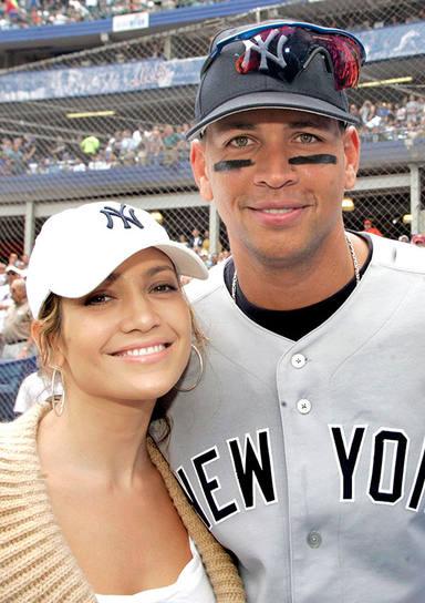 Jennifer Lopez y Alex Rodriguez en 2005, cuando se conocieron