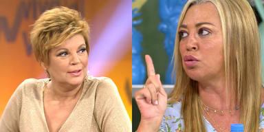 La reprimenda de Belén Esteban a Terelu Campos por sus críticas a Sálvame