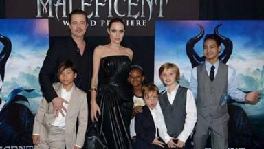 Los hijos de Angelina Jolie y Brad Pitt