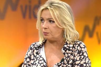 Los dardos envenenados de Emma García a Carmen Borrego que han sido aplaudidos por la audiencia