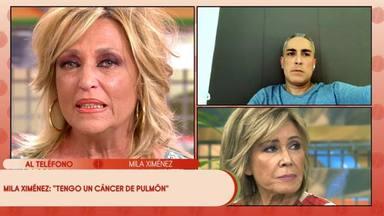 La desoladora reacción de los colaboradores de 'Sálvame' al conocer el cáncer que padece Mila Ximénez
