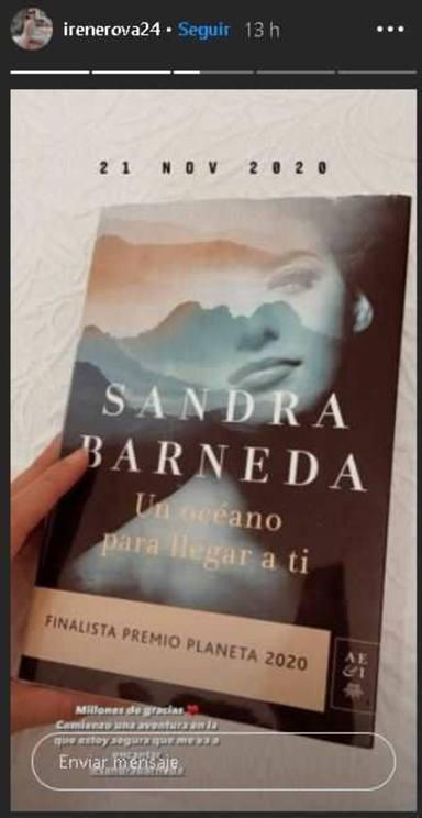 Sandra Barneda, muy enamorada, grita a los cuatro vientos el nombre de su nueva ilusión