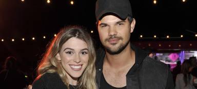 Taylor Lautner y Tay Dome comparten fotografías del nuevo miembro de la familia