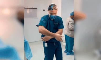Cirujano bailando