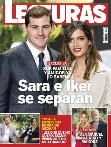 Las redes en shock: Los rumores de ruptura de Sara Carbonero e Iker Casillas se hacen realidad