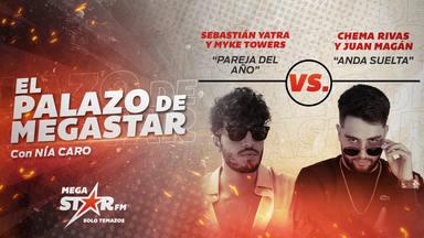 Sebastián Yatra y Myke Towers se convierten en la 'Pareja del Año' por segunda vez como El Palazo de MegaStar