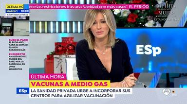 El tremendo enfado de Susanna Griso en pleno directo con el equipo de Espejo Público: Descordinación...