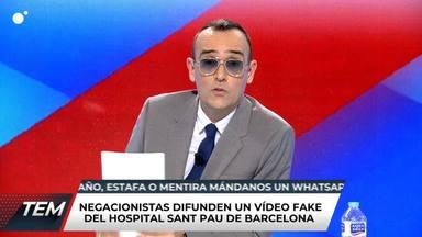 Risto Mejide, muy cabreado, lanza un mensaje muy agresivo a parte de su audiencia: Que pille el coronavirus