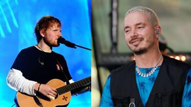 La foto de Ed Sheeran y J Balvin que despierta los rumores de colaboración
