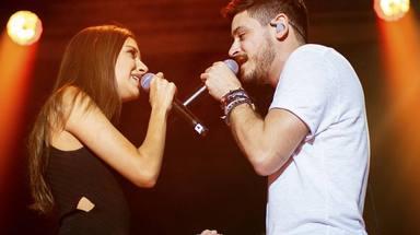 El curioso motivo por el que Ana Guerra no pudo continúar cantando 'olvidame' junto a Cepeda