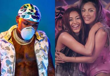 Lady Gaga y Ariana Grande contra DaBaby y Roddy Ricch, la batalla por el Nº1
