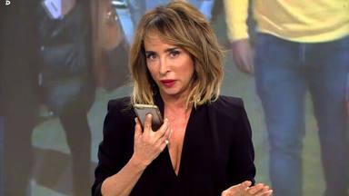 María Patiño, obligada a parar el programa en directo para pedir disculpas a Isabel Pantoja por esta pillada