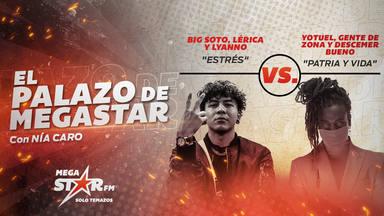 'Estrés' de Big Soto, Lérica y Lyanno arrasa y cumple su primera semana como El Palazo de MegaStar