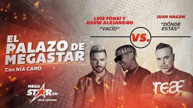 'Vacío' de Luis Fonsi y Rauw Alejandro repite en el podio de El Palazo de MegaStar y les toca otra batalla