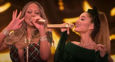 Ariana Grande y Mariah Carey