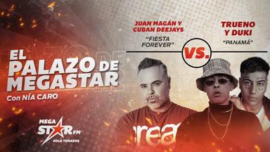 ¡Invencibles! Juan Magán y Cuban Deejays cierran la semana con 'Fiesta Forever' como El Palazo de MegaStar