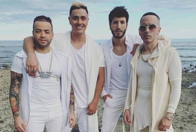 Sebastián Yatra forma una 'boy band' junto a Yandel, Nacho y Joey Montana en su última producción