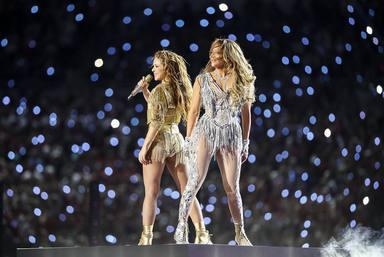 Shakira y Jennifer López convierten la Super Bowl en un tributo a la música latina