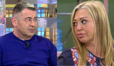"El corte de Belén Esteban a Jorge Javier Vázquez que deja en 'shock' a sus compañeros: ""Te lo dije una vez"""