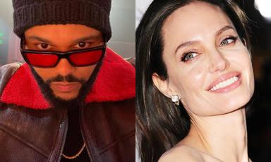Las citas entre The Weeknd y Angelina Jolie, al descubierto: todos los detalles de su segunda cena juntos