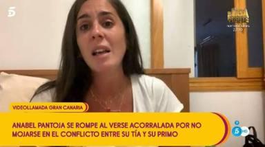 He colgado yo: El desplante de Anabel Pantoja a Paz Padilla en pleno directo