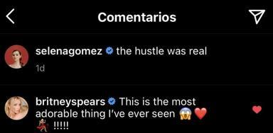 El comentario que le ha hecho Britney Spears a Selena Gomez