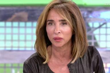 El gran enfado de María Patiño tras sufrir una broma en las redes sociales