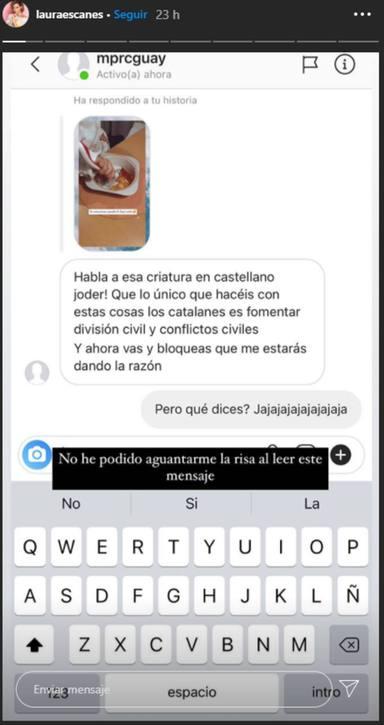 La aplaudida respuesta de Laura Escanes a un inoportuno comentario sobre su hija en redes