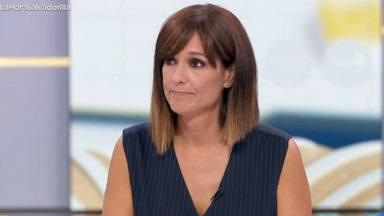 Mónica López vive uno de sus momentos más conmovedores en la televisión: no puede seguir de la emoción