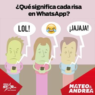 ¡Cuidado con los jajas en Whatsapp! Cada uno significa una cosa