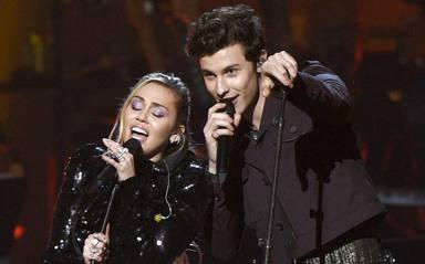 Miley Cyrus y Shawn Mendes