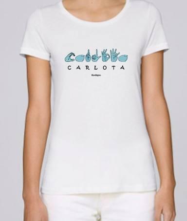 Carlota Corredera, camiseta