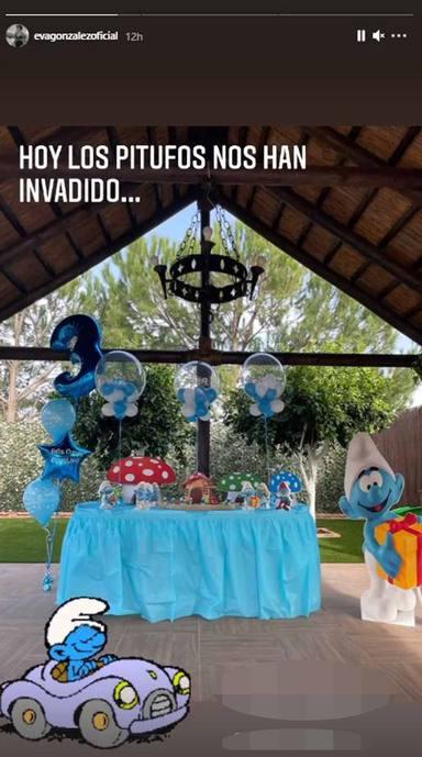 Cumpleaños hijo Eva González