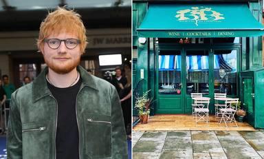 El sabroso menú que ofrece el restaurante de Ed Sheeran tras su reapertura
