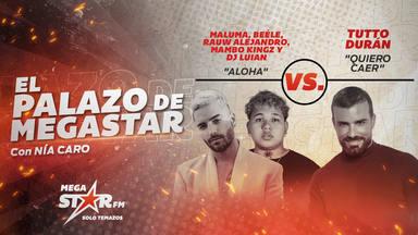 Maluma se acerca a romper los récords con 'Aloha' como El Palazo de MegaStar a la espera de una nueva batalla
