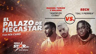 ¡Impresionante! Manuel Turizo y Maluma se mantienen en el trono en su segunda semana y les toca nueva batalla
