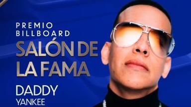 Daddy Yankee agranda su leyenda musical con el premio Billboard Salón de la Fama por su carrera