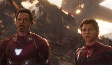 """La frase de Spiderman: """"No me quiero ir"""""""