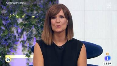"""La confesión de Mónica López tras el test en directo de una reportera de TVE: """"Me estaba mareando"""""""