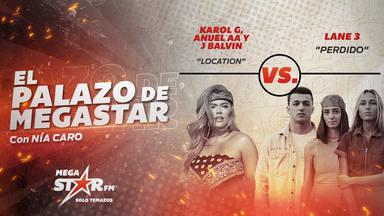 'Location' de Karol G, Anuel AA y J Balvin bate a su rival y repite como El Palazo de MegaStar