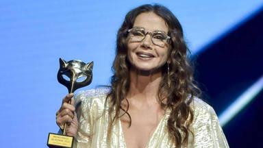 """Victoria Abril, arrepentida, pide perdón en los Premios Feroz: """"os juro que no ha sido mi intención"""""""
