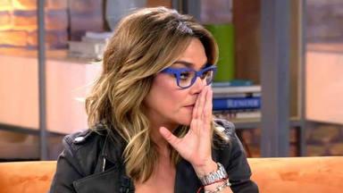 "Toñi Moreno totalmente emocionada con la trágica historia de Anabel Alonso: ""era muy doloroso"""