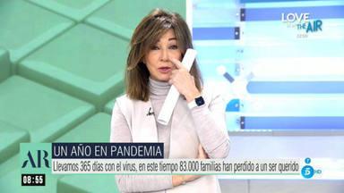 Ana Rosa Quintana se derrumba en directo y lamenta una dura pérdida: Era mucho más