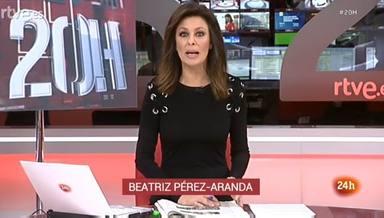 Una conocida presentadora de TVE vive un angustioso momento en directo que se ha hecho viral en las redes