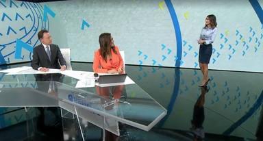 Así fue el conmovedor regreso de Himar González a Antena 3 tras la infección que pudo costarle la vida