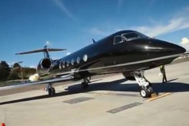 Avión privado de Maluma